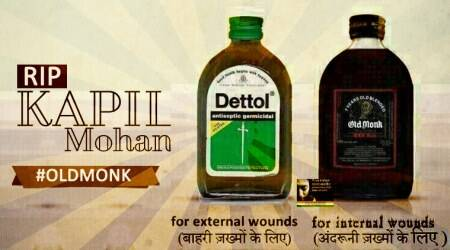 Old Monk creator Brig Kapil Mohan dies at 88; Twitterati raise a glass to mourn theloss