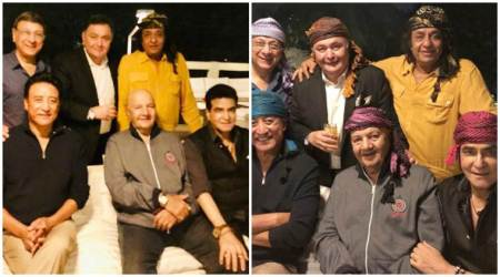 Rishi Kapoor, Jeetendra, Danny's reunion photo is a dose of nostalgia for Bollywood lovers