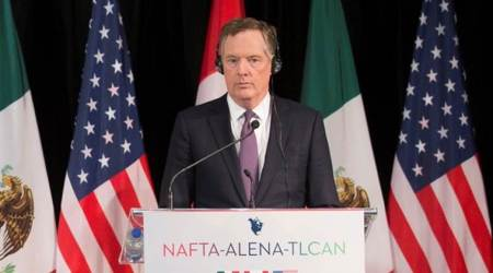 US says NAFTA talks are progressing very slowly