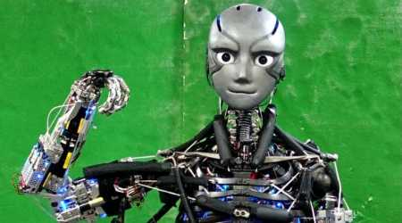 Humanoid robot 'sweats' during exercise, mimics muscle movement