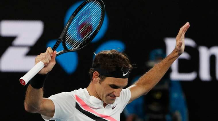 Roger Federer is defending Australian Open.