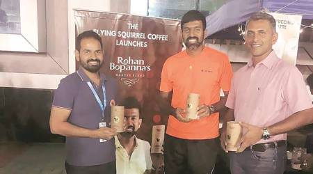 Rohan Bopanna serves home-grown brew at Tata Open