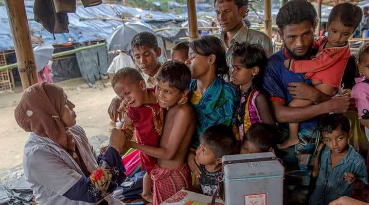 Rohingya, Rohingya refugee, Dhaka, Bangladesh, Rakhine state, Rohingya Muslims in Bangladesh, Undernourished Rohingya, Indian Express