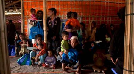Mizoram: Refugees moved to one relief camp from four villages