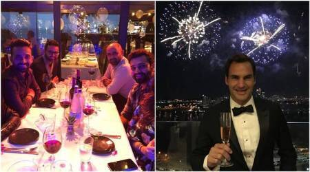 Happy New Year 2018: Here's how Rohit Sharma, Mohammed Shami, Roger Federer, PR Sreejesh, Saina Nehwal and other sports stars entered 2018