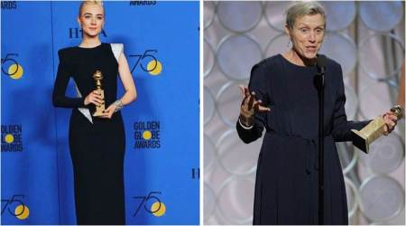 2018 Golden Globe Awards: Winners Ronan, McDormand agree it's a special night for women