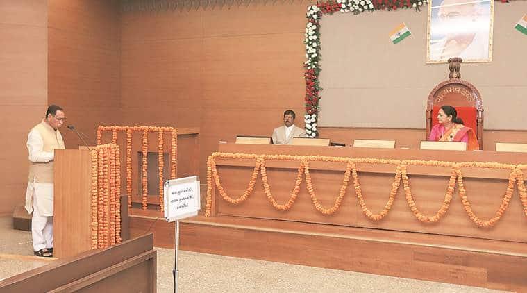 Gujarat, Gujarat ministers, Vijay Rupani. Jignesh mevani, Alpesh Thakor, Gujarat oath taking ceremony, Gujarat BJP, Gujarat congress, India news