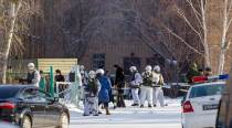 Russian student injures six in an axe attack at hisschool