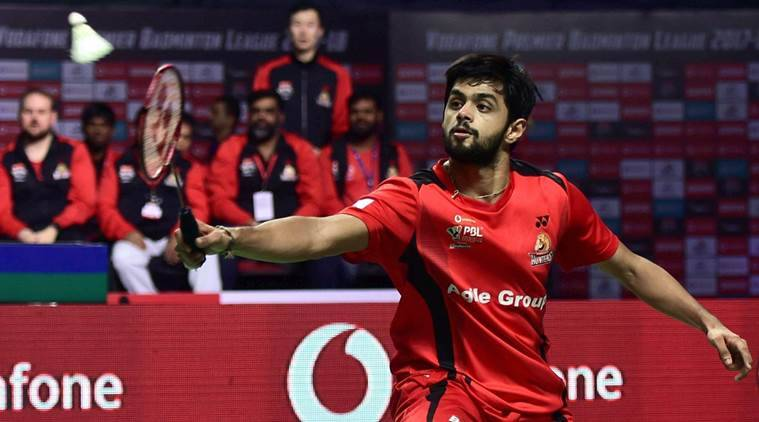 B Sai Praneeth, B Sai Praneeth news, B Sai Praneeth updates, Kidambi Srikanth, Kidambi Srikanth news, PBL, Hyderabad Hunters, Awadhe Warriors, sports news, badminton, Indian Express