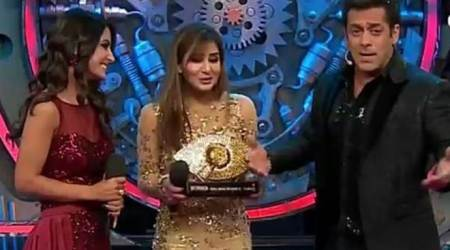PHOTOS: Shilpa Shinde takes away the winner trophy, check out Bigg Boss 11 finale highlights