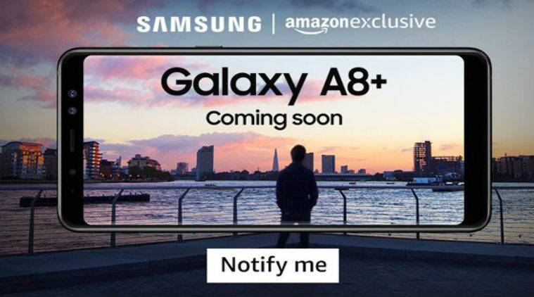 Galaxy A8+, Galaxy A8+ Amazon India, Galaxy A8+ 2018, Galaxy A8 Plus, Samsung Galaxy A8+ price in India, Samsung smartphones in India, Android