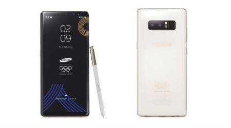 Samsung Galaxy Note8 PyeongChang 2018 Olympic Games Limited Edition launched