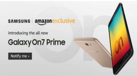 Samsung Galaxy On7 Prime, Galaxy On7 Prime Amazon, Amazon India Galaxy On7 Prime, Galaxy On7 Prime price in India, Galaxy On7 Prime specifications