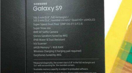 Samsung Galaxy S9 retail box leaked, reveals Super Speed tech, dual apertures for camera