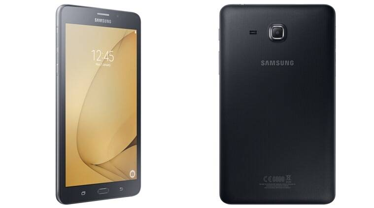 samsung galaxy tab a 7 0 launched in india at rs 9 500 reliance jio rh indianexpress com 2018 samsung newest galaxy tab a flagship 7 samsung galaxy tab a 2018 android 7