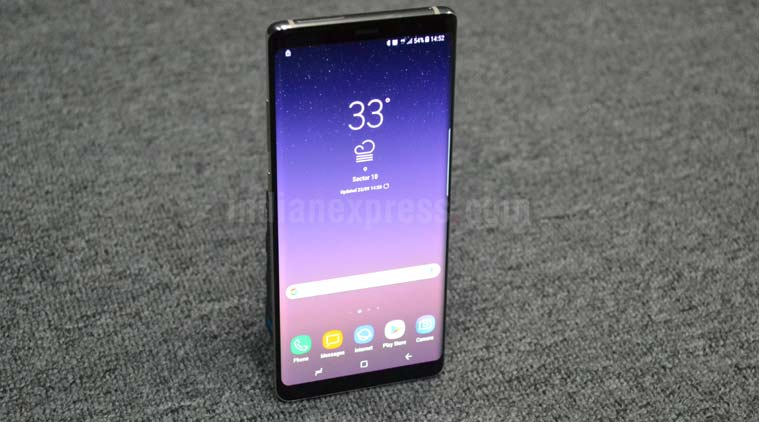 Samsung Galaxy Note 8 battery issues