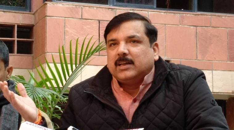sanjay singh, aap leader, aam aadmi party, sanjay singh targets bjp government, rajya sabha mp sanjay singh, NDA government, narendra modi government, maharashtra AAP unit, aap mp criticises BJP