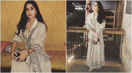 Sara Ali Khan pulls off another inspiring 'desi' look in an Abu Jani-Sandeep Khosla outfit; see pics