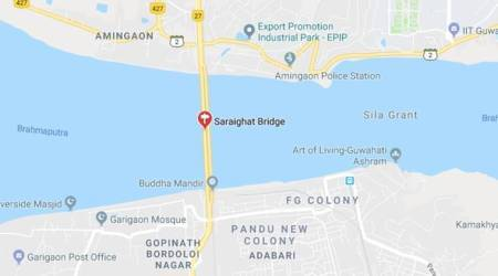Brahmaputra bridge girder bearings tilted in 2009 quake repaired after eight years