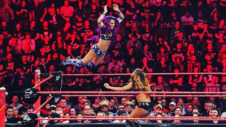 Sasha Banks, WWE Sasha Banks, Royal Rumble, WWE Raw, John Cena, Paige, wwe news, indian express