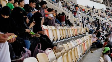 Saudi Arabia women score right to watch men's football in stadiums