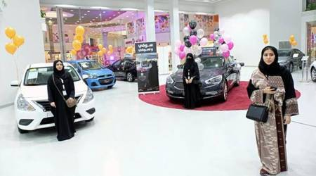 Saudi women-only motorshow opens in Jeddah