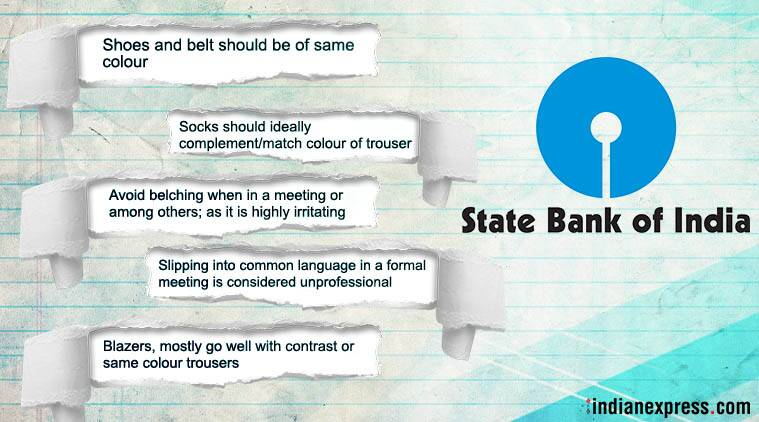 SBI, SBI social etiquette circular, do not burp SBI, sbi tells staff not to burp, burp news, Indian express, Indian express news