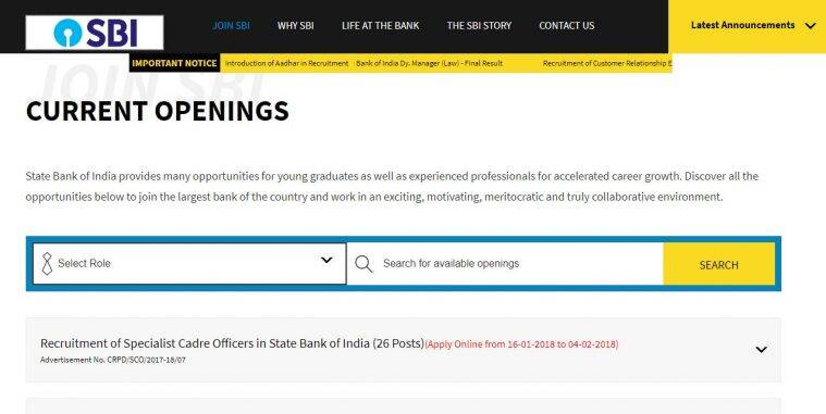 Sbi Recruitment 2018 121 Vacancies For Manager Post Salary Upto Rs