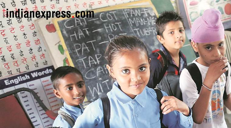 Punjab: In basic test, 13 per cent of Class 6 students fail to recognise English letters