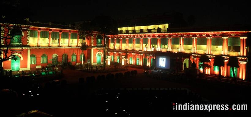Rabindranath Tagore, Tagore home, Jorasanko thakurbari, Jorasanko thakurbari light and sound, Tagore Kolkata home, Tagore Kolkata home light and sound show, Kolkata light and sound show, Rabindra Bharati University, RBU light and sound show, tagore history, kolkata news,