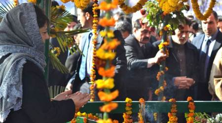 Governor, Deputy CM pay tributes to Mufti Mohammad Sayeed on his deathanniversary