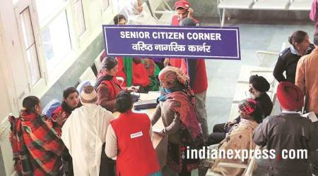 Panchkula: Saarthis at Civil Hospital get thumbs up from seniorcitizens