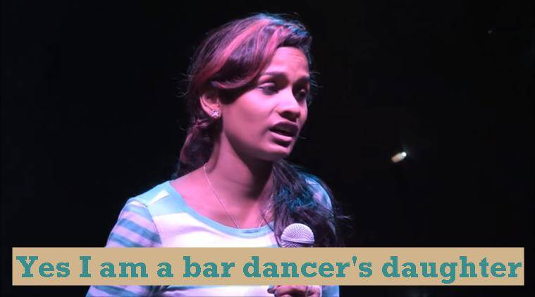 bar dancer video, bar dancer daughter video, bar dancer drummer daughter, viral video, indian express, Indian express news