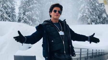 Shah Rukh Khan's Swiss diaries is all about striking his signature pose and having a fan moment with Elton John, Cate Blanchett
