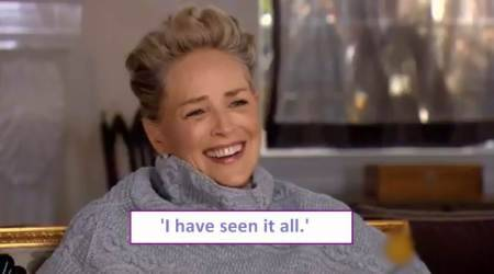 VIDEO: Sharon Stone was asked if she ever faced sexual harassment, her response is a must watch