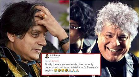 Suhel Seth catches Shashi Tharoor's grammatical mistake, and Twitterati can't get enough of it