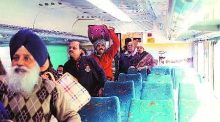 Passenger thumbs up to upgraded Chandigarh-New Delhi Shatabdi Express