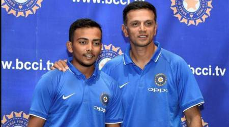 Prithvi Shaw, Prithvi Shaw India, India Prithvi Shaw, Prithvi Shaw India captain, ICC U19 World Cup, sports news, cricket, Indian Express