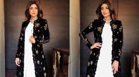 Shilpa Shetty Kundra shows us how to add oomph to a basic salwaar-kameez look