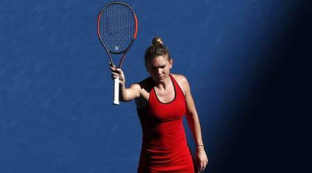 Australian Open 2018: Simona Halep survives date with Destanee Aiava in opening round