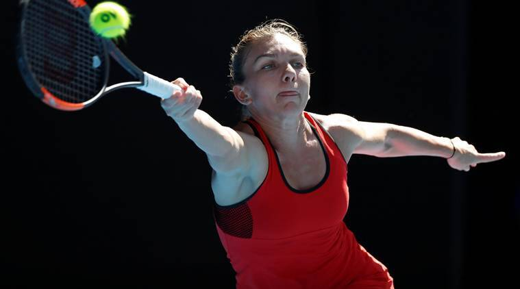 Simona Halep, Simona Halep Australian Open, Australian Open 2018, Angelique Kerber, sports news, tennis, Indian Express