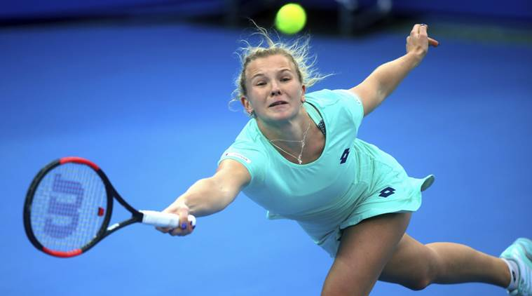 Katerina Siniakova of the Czech Republic