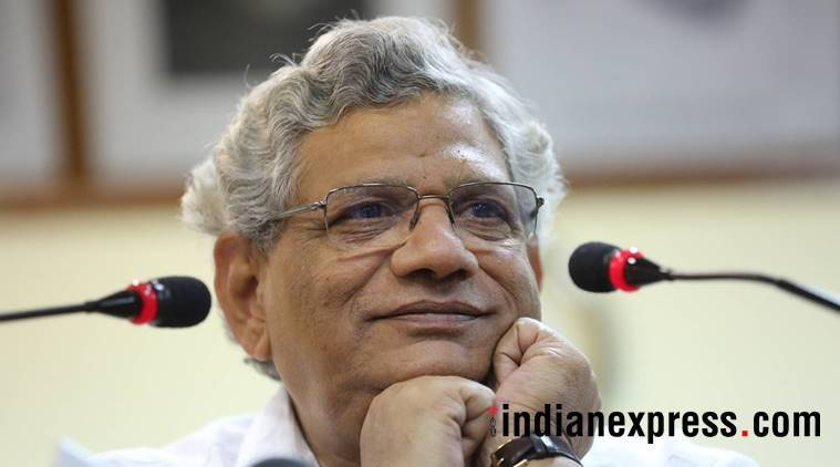 sitaram yechury, cpim, left, cpim gen secr, cji impeach, indian express