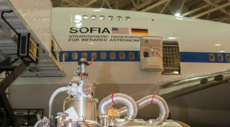 NASA, Stratospheric Observatory for Infrared Astronomy, Sofia 2018 mission, Saturn, Titan, Boeing 747, space telescopes, active black holes, High-resolution Airborne Wideband Camera-Plus, Mars, German space agency DLR