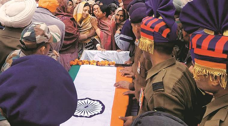 Soldier cremated at Ferozpur village