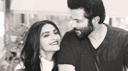 Ek Ladki Ko Dekha Toh Aisa Laga: Sonam Kapoor is excited about her first shot with father Anil Kapoor, see photo