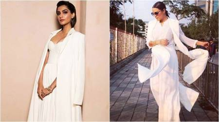 Sonam Kapoor, Neha Dhupia prove that white-on-white is always classy when styled right