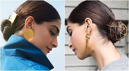 Try Sonam Kapoor's hairstyle trick to instantly glam up your casuallook
