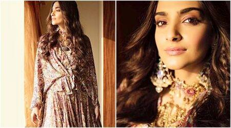 PadMan promotions: Sonam Kapoor works a flowy Anamika Khanna number like a true fashionista