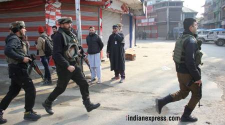 Second big attack in Valley within a week of 2018, IED blast kills four policemen in Sopore